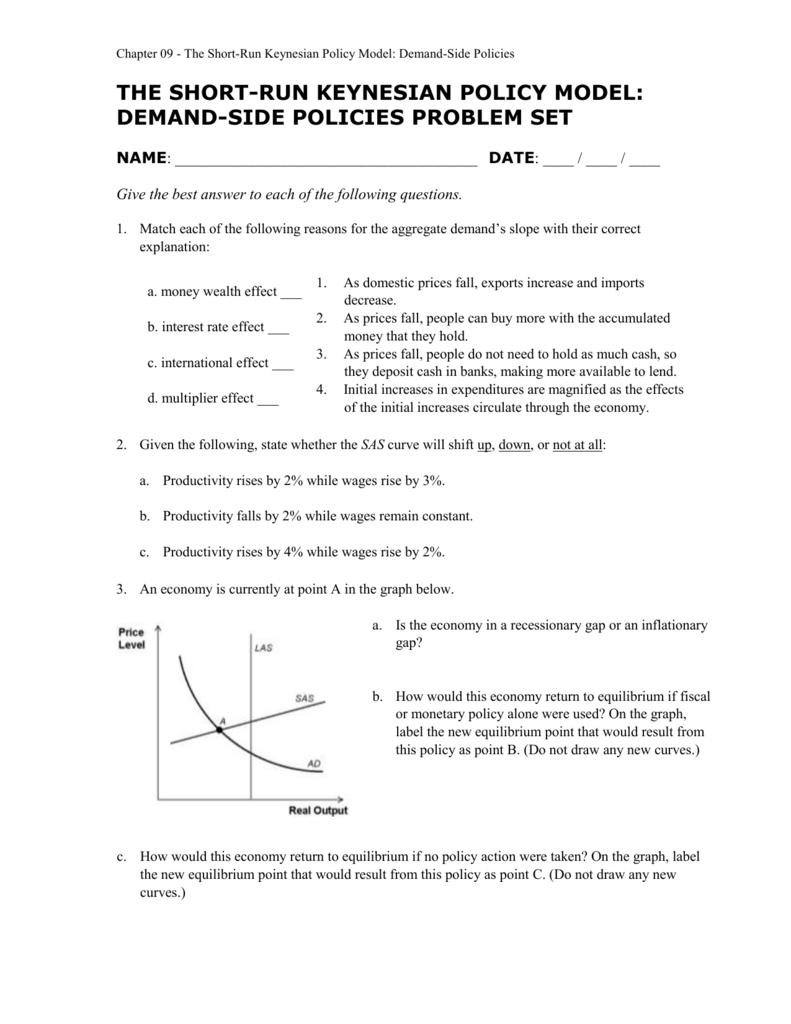 Problem Set Ch 9 Macro Col9e