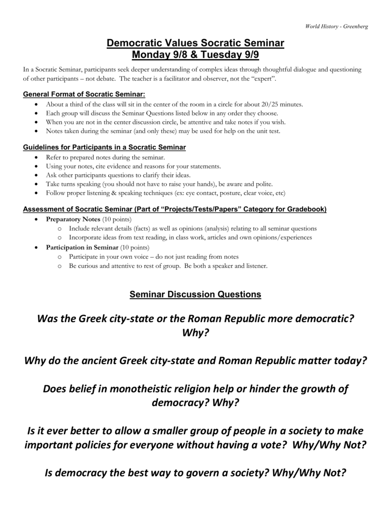 The History of Ancient Greece in Question and Answer Format