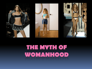 The Myth of Womanhood