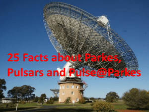 Twenty-five facts about Parkes and Pulsars