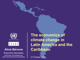eclac - The UN Regional Commissions
