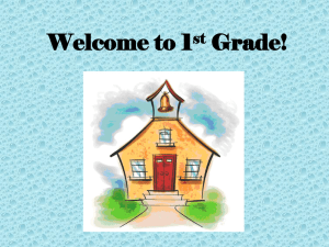 Welcome to 2nd Grade! - Humble Independent School District