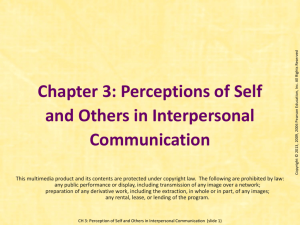 The Interpersonal Communicatin Book 11th Ed.