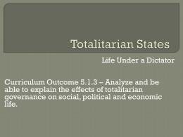 Totalitarianism in Europe Activity - Kelbaugh-Tech