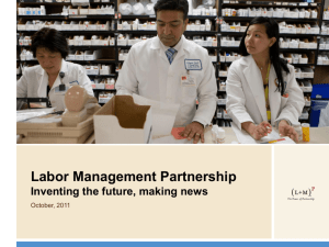 PPT - Labor Management Partnership