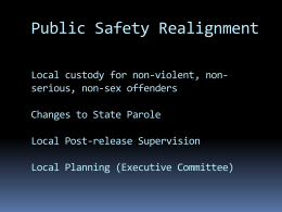 PowerPoint Overview - California Police Chiefs Association
