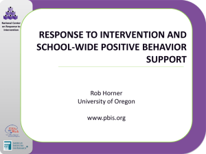 PPT - Center on Response to Intervention