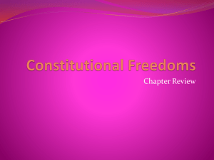 Constitutional Rights Review