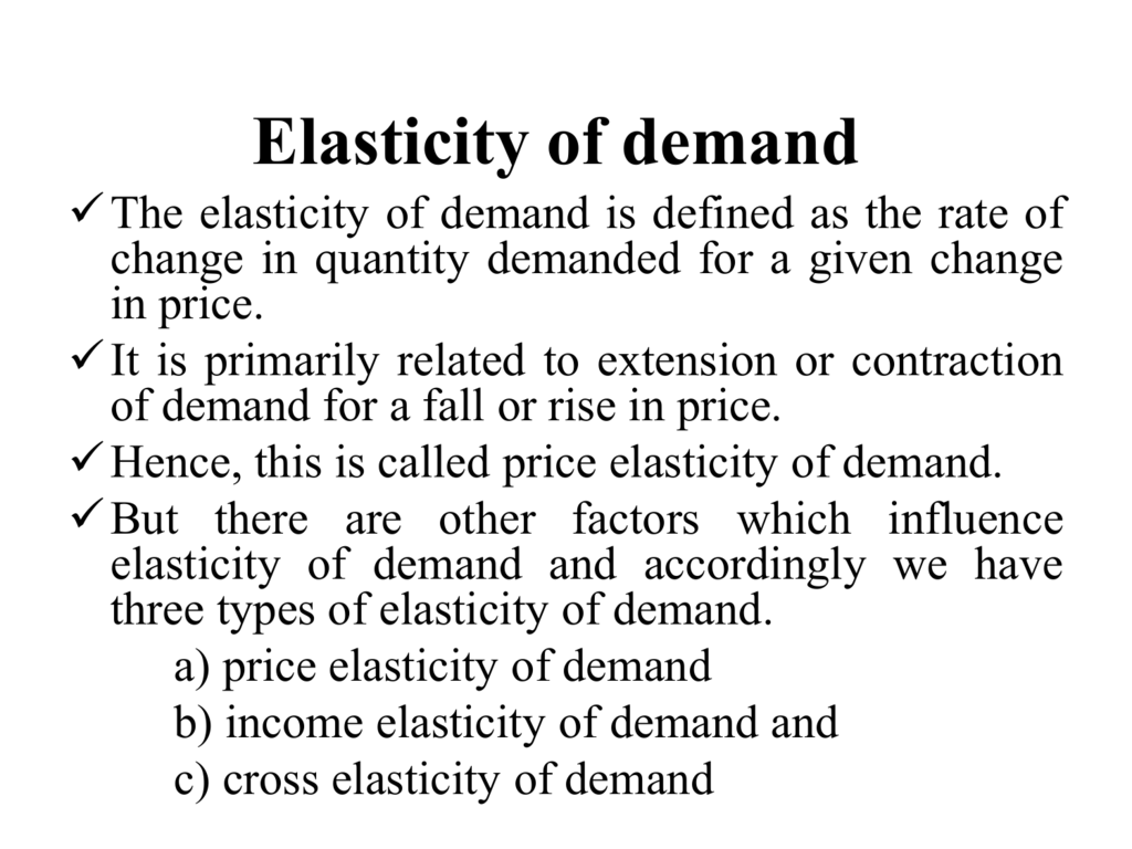 Elasticity Of Demand File