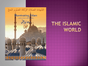 THE ISLAMIC WORLD