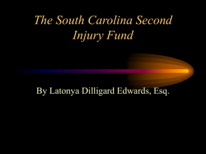 The South Carolina Second Injury Fund Cleared For Takeoff
