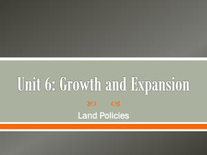 Land Policies PPT