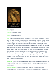 Brisingr reading log - pukeroom5-2013