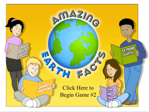 Amazing Earth Facts
