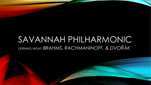 Educator Guide - Savannah Philharmonic