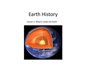 Lesson 1 What's inside the Earth_Teacher