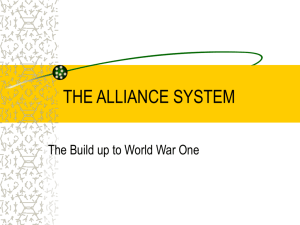 THE ALLIANCE SYSTEM
