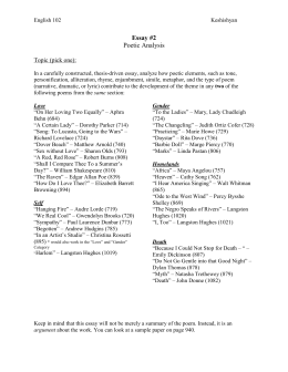 mother to son by langston hughes essay 2 poetry english 102