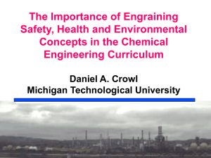 The Importance of Engraining Safety, Health,and Environmental