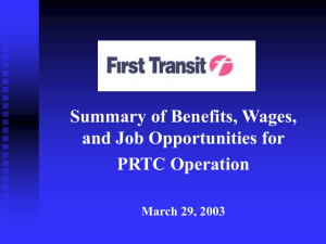 Welcome to First Transit, Inc.