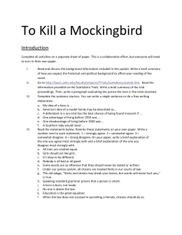 Nelle Harper Lee, the author of To Kill a Mockingbird, had many