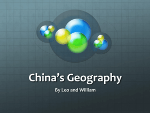 China*s Geography