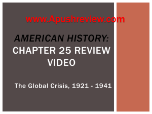 American History chapter 25