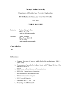 Syllabus - Electrical and Computer Engineering