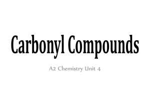 Describe and explain the boiling point of carbonyl