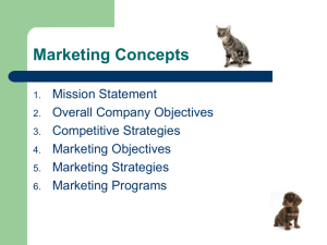 Marketing Concepts - Veterinary Staff Unlimited