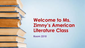 About Ms. Zimny's classroom (click here!)