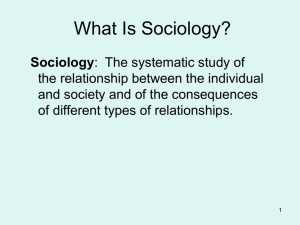 Founders of the sociology