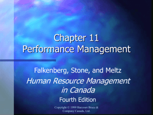 chapter eleven performance management