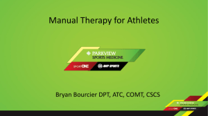 Soft Tissue Palpation and Manual Therapy