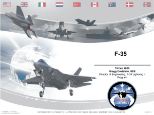F-35 Lightning II Briefing