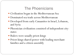 The Phoenicians - Doral Academy Preparatory