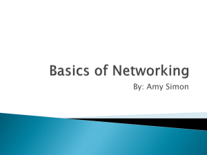 Basics of Networking - Boise State University