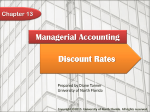 Managerial Accounting Chapter 13