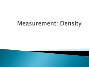 Measurement: Reading Lab Equipment
