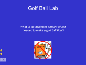 Golf ball density lab-student version 2015