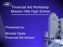 fafsa - San Marcos Unified School District