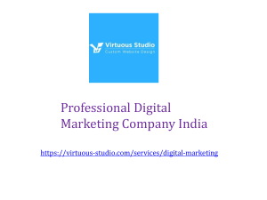 Best Digital Marketing Company India -Increase Your Website Traffic