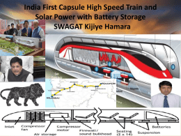 Presentation Hyper loop Train