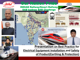 Presentation Indian Railway Electrical and S&T
