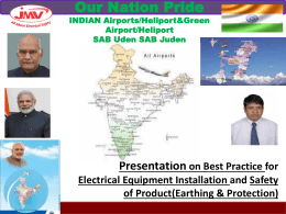 Indian Smart Airports Presentation by JMV LPS