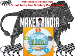 Presentation  Fire and Safety Protection by JMV LPS