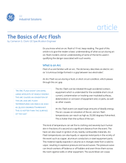 GE-The-Basics-of-Arc-Flash-Article GE Industrial Solutions 0