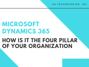 Microsoft Dynamics 365 Consulting Solutions Provider in USA