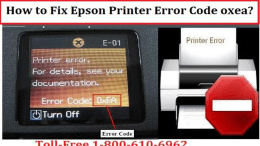 1-800-213-8289 Fix Epson Printer Error Code 0xea