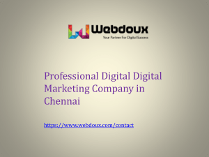 Best Digital Marketing Company in Chennai